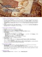 Locandina - Programma Quaresima