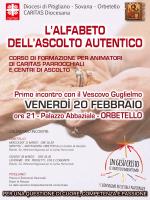 corso per animatori caritas-2 - Diocesi di Pitigliano