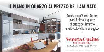 Acquista una Veneta Cucine: avrai il piano in quarzo al prezzo del