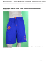 Fanwear NBA New York Knicks Adidas Pantaloncini