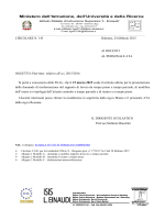 Circolare n. 145 - Part time 2015-16