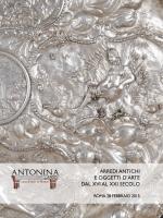 scarica il catalogo - Antonina dal 1890 Casa d`Aste a Roma