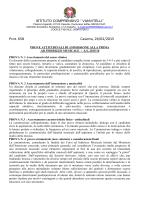 Regolamento prove attitudinali strumento 2015