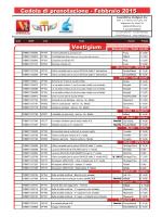 Cedola di prenotazione - Febbraio 2015 Vestigium