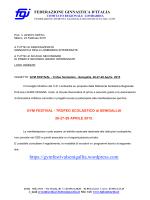 trofeo scolastico senigallia (an) - 26/27/28 aprile 2015