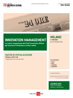INNOVATION MANAGEMENT - Sole 24 ore : formazione online