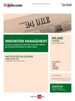 INNOVATION MANAGEMENT - Sole 24 ore : formazione online