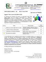 """Allegato - Liceo Scientifico Statale """"E. Fermi"""""""