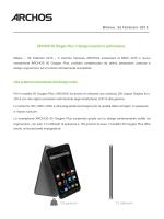ARCHOS 50 Oxygen Plus: il design incontra le performance Uno