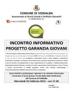 Piano di attuazione italiano della Garanzia Giovani