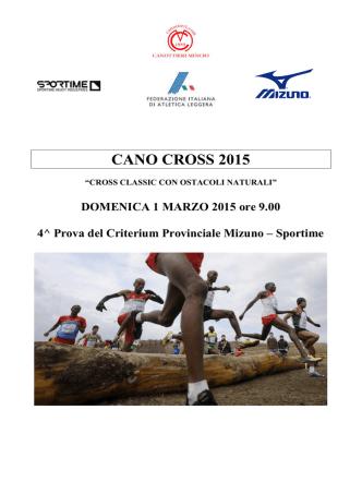 CANO CROSS 2015