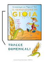 Tracce domenicali - Diocesi di Fossano