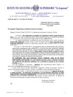 circolare - Liceo scientifico G. Asproni