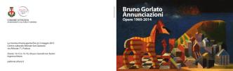 Bruno Gorlato Annunciazioni - PadovaCultura