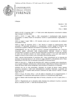 Pubblicato sull`Albo Ufficiale (n. 1473) dal 4 marzo 2015 al 2 aprile