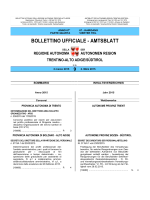 Bollettino n. 9 del 2 marzo 2015 - Regione Autonoma Trentino Alto