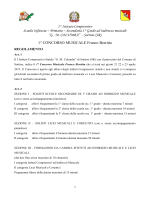 regolamento - 1° Istituto Comprensivo GM COLUMBA