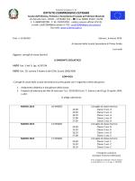 consigli marzo 2015 - Istituto Comprensivo