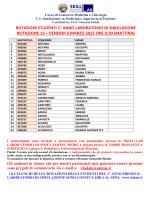 ROTAZIONI STUDENTI 1° ANNO LABORATORIO DI SIMULAZIONE