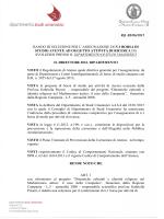 Rif. BS/06/2015 BANDO DI SELEZIONE PER L`ASSEGNAZIONE DI