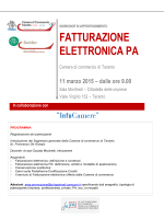 STD - NO SISTEMA CAMERALE - Camera di commercio di Taranto
