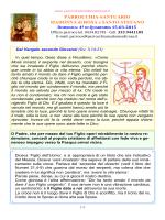 Avviso 2015.03.15 - Parrocchia Madonna di Rosa
