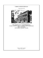 Relazione sulla giurisprudenza e sull`attività della Corte