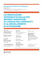 Programma convegno - Consiglio Nazionale Architetti