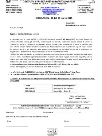 Circolare n.84 del 10/03/2015 in formato pdf
