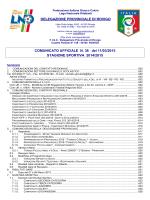 comunicato n. 38 - F.I.G.C. Veneto