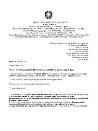 Circolare n. 102 - itozieri.gov.it