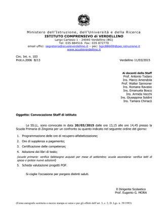 Circ.n.103 - Circolare convocazione staff del 20_3_15