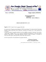 Prot. n°. 3011/C41a Reggio Calabria, 09/03/2015 Al Personale