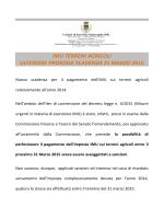 scadenza 31 marzo 2015 - Comune di Sant`Elia Fiumerapido