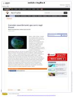 Calcolato assorbimento gas serra negli Oceani