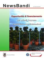 NewsBandi 37 2015 - Provincia di Pistoia