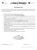 Regolamento 2015 - Festival Grevigiano 2015