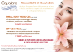 TOTAL BODY MENOCELL50 minuti OXYGEN FACE50 minuti