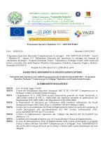 Bando Esperto esterno PON VALES Progetti B-1-FSE-2014-74 C-1