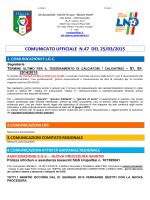 C.U. n 47 2014 2015