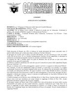 Scheda dell`escursione - CAI Cinisello Balsamo