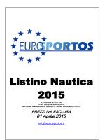 Listino Nautica 2015