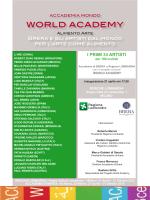 Invito inaugurazione World Academy