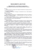 REGOLAMENTO LAB DP SUN - Dipartimento di Psicologia