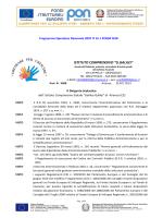 Determina DS avvio procedura di gara PON FESR E1-425 -2014
