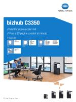 bizhub C3350 - CremonaUfficio