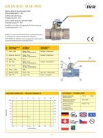 ELITE GAS EN 331 - IVR 100 - IVR 101