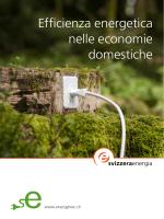 Efficienza energetica nelle economie domestiche