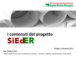 I contenuti del progetto S.I.Ed.ER