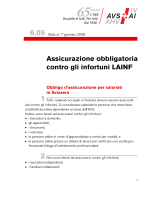 6.05 Assicurazione obbligatoria contro gli infortuni AINF